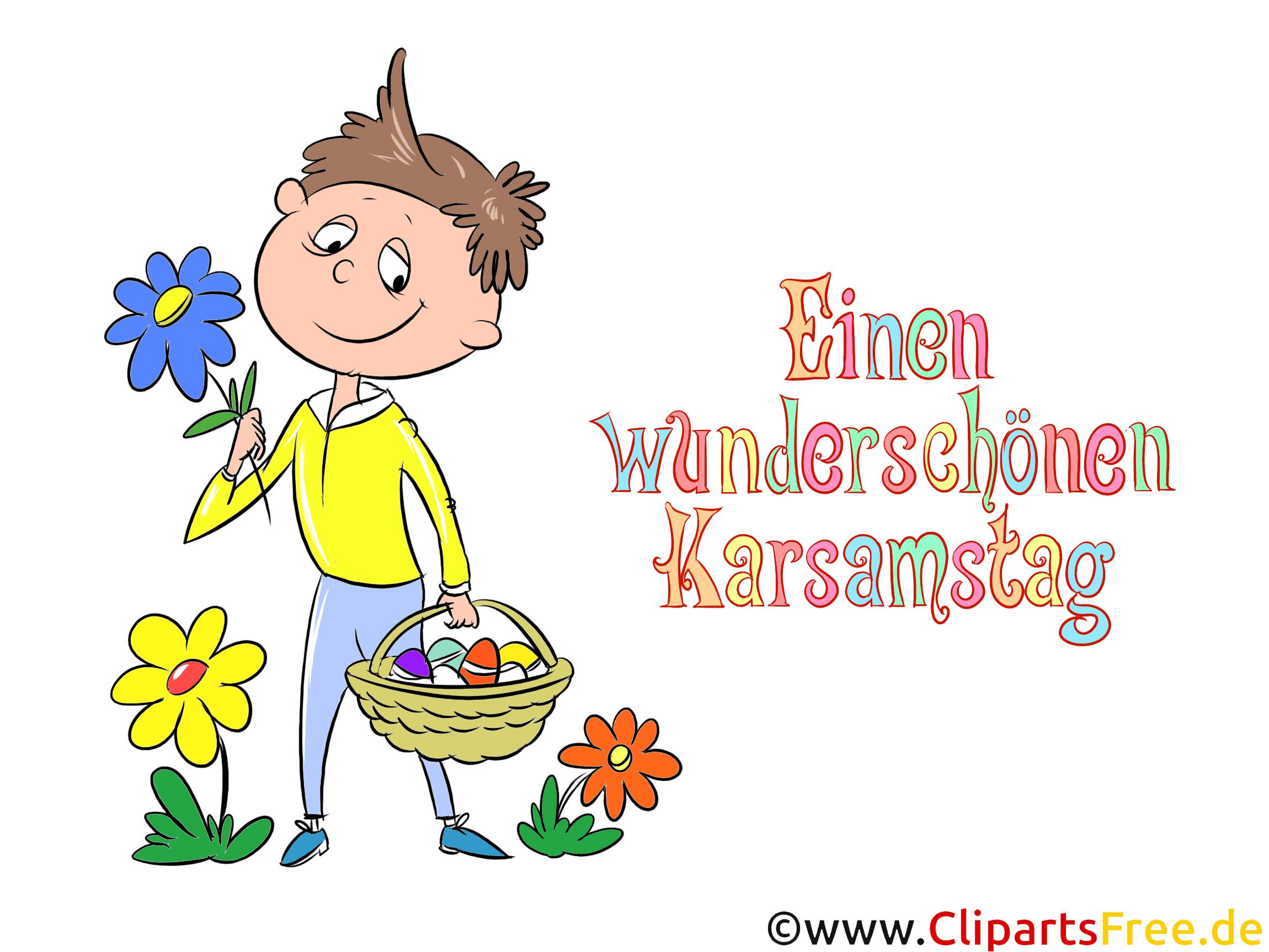 Einen Wunderschãnen Karsamstag Grusskarten Zu Ostern Karsamstag
