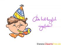 Einladungen Zum Kindergeburtstag Online Als ECards Verschicken