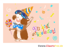 Großartig Einladungskarte Geburtstag Kindergeburtstag. Card Rate