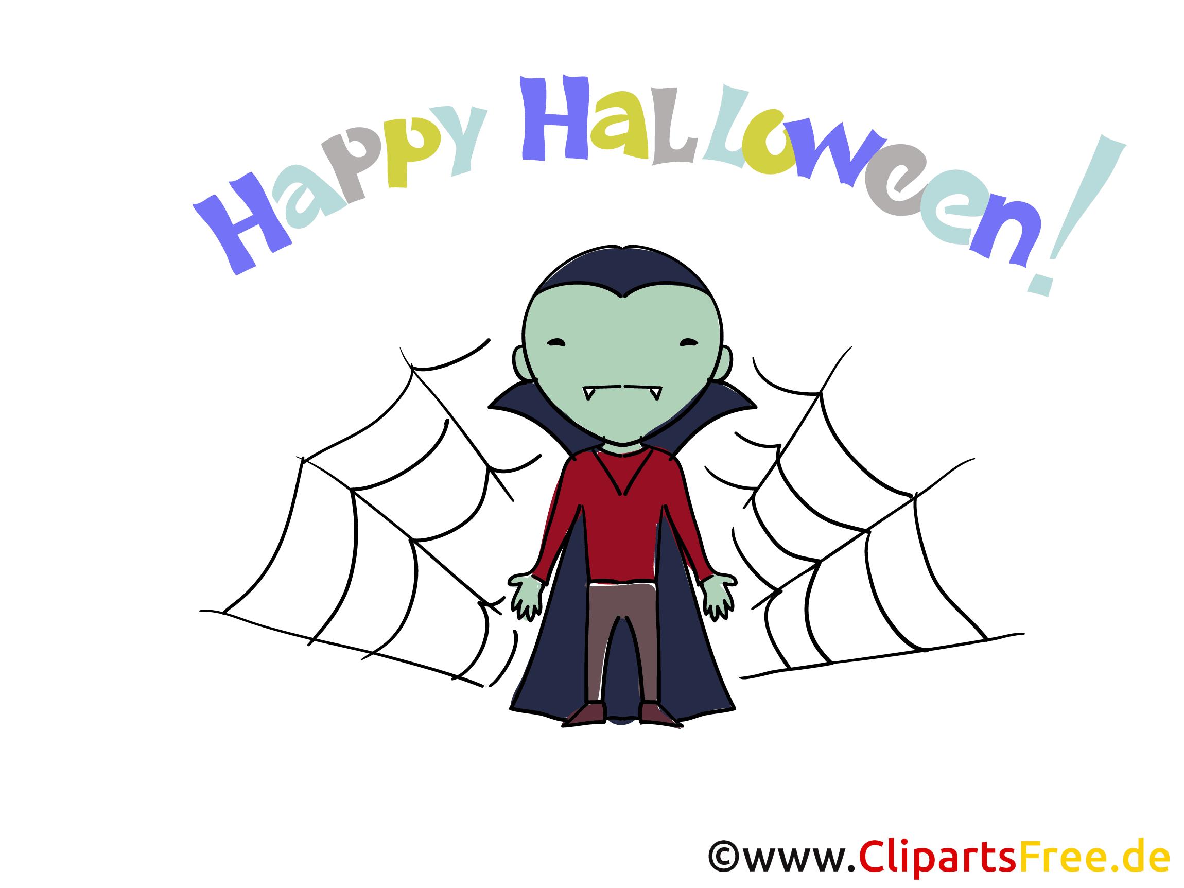 halloweenkarte happy halloween kostenlos versenden