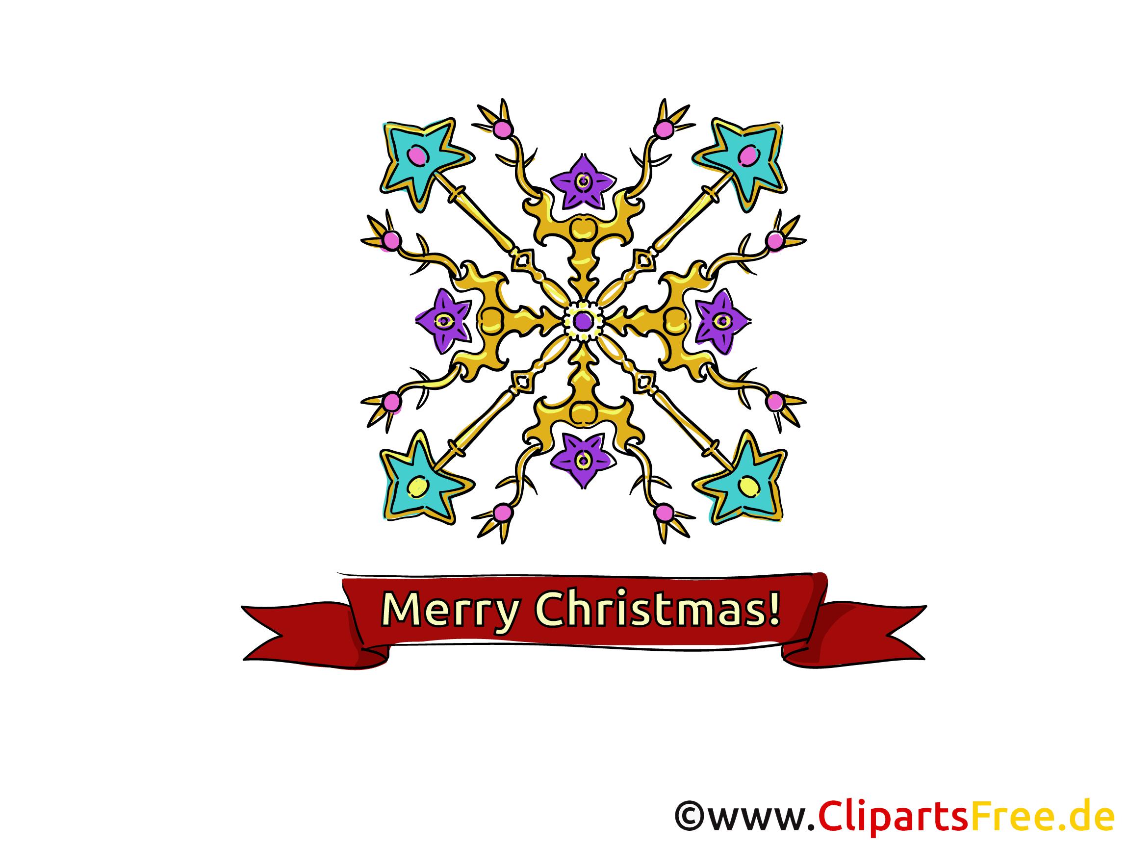 Weihnachtsstern Clipart, eCard, Bild per E-Mail verschicken - Merry ...